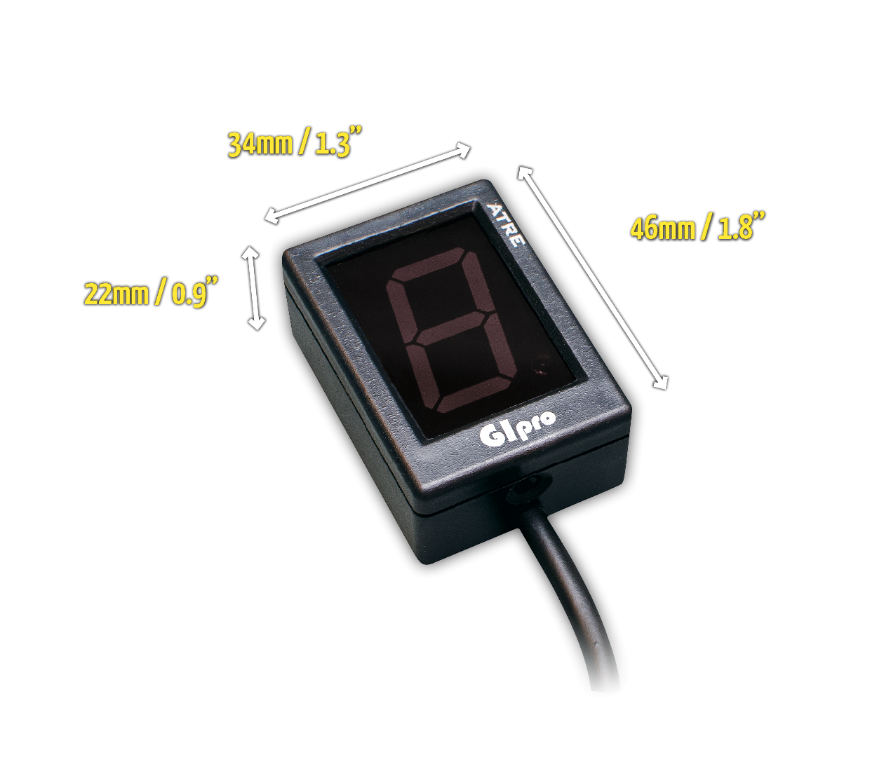 Gipro Atre G2 Gear Indicator By Healtech Electronics Ltd Wiring Diagram Dimensions