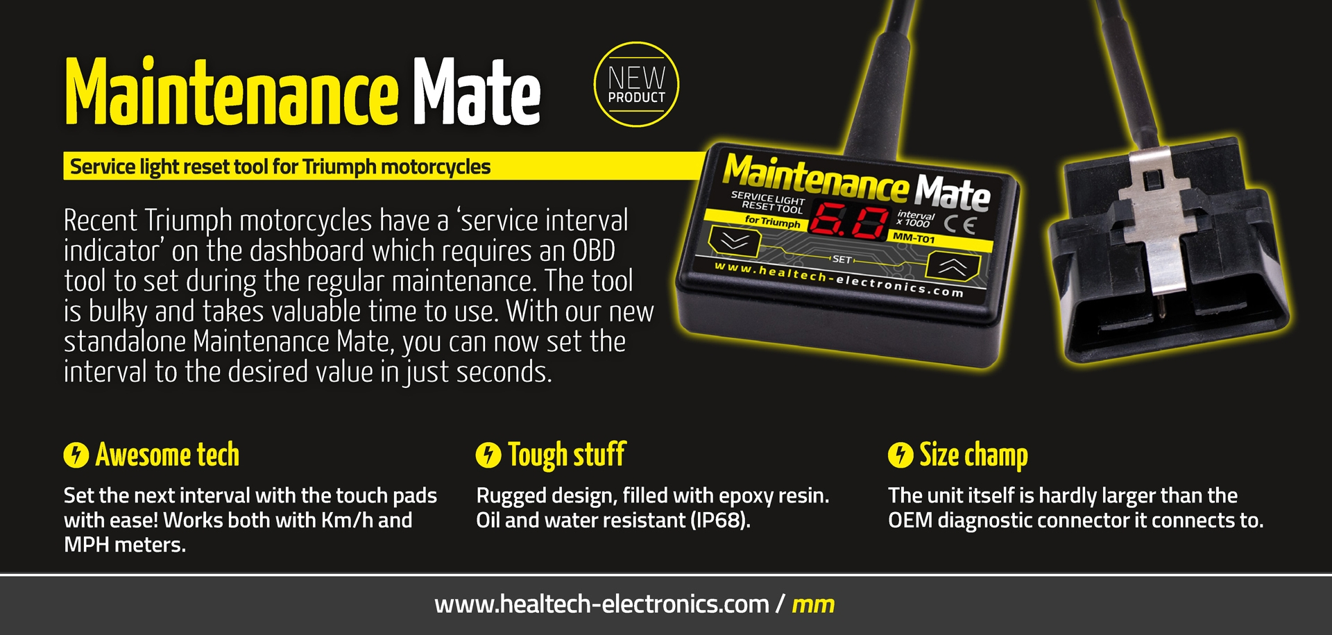 Maintenance Mate flyer